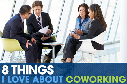 Infographic reveals 8 things I love about coworking