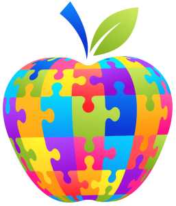 Apple Puzzle Vector
